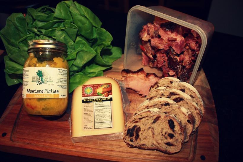 Ham Sandwich 1