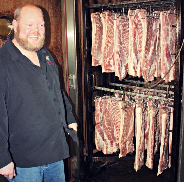 Greg & Bacon