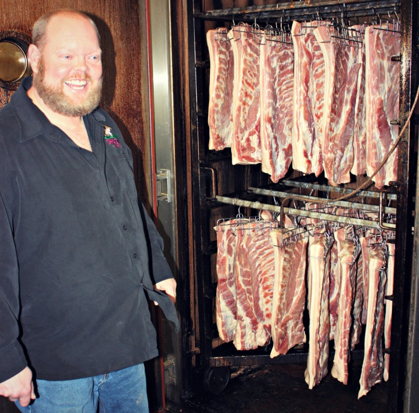 Greg & Bacon